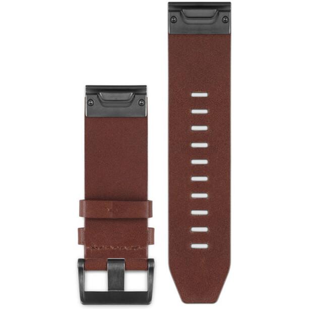 Garmin fenix 5 Lederarmband QuickFit 22mm brown