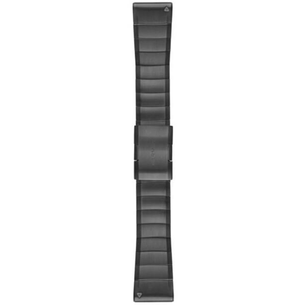 Garmin fenix 5x/3 Metall Uhrenarmband QuickFit 26mm grey