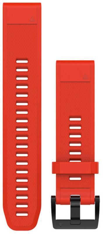 Garmin fenix 5 Armbånd av silikon QuickFit 22mm rød  2019 Pulsmåler Tilbehør