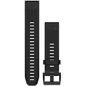 Garmin fenix 5 Bracelet en silicone QuickFit 22mm, noir noir