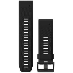 Garmin fenix 5x/3 Bracelet en silicone QuickFit 26mm, black black