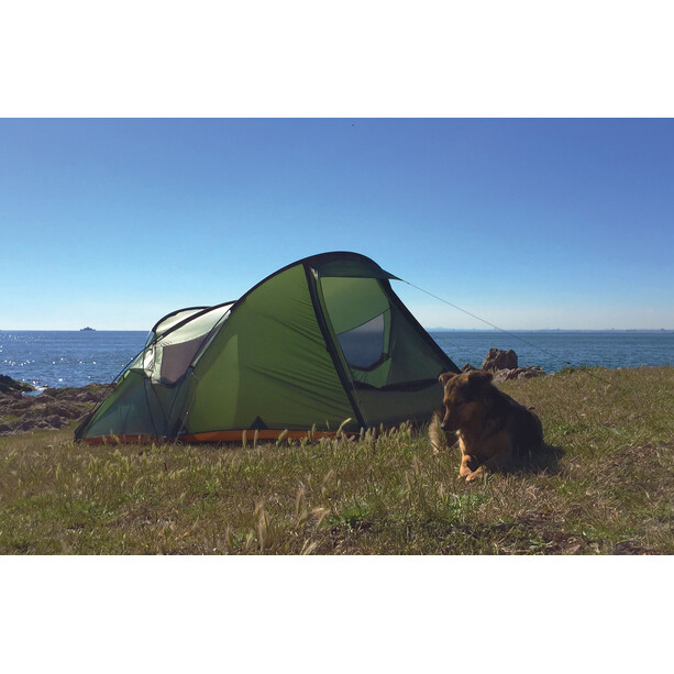 Nigor Great Auk 2 Tent willow bough/burnt orange
