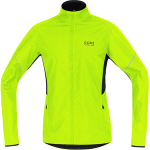 GORE RUNNING WEAR Essential WS Active Partial Jacke Herren neon yellow/black neon yellow/black