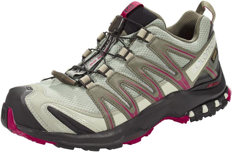 XA Pro 3D GTX Trailrunning Shoes Women Shadow/Black/Sangria UK 7 | 40 2/3 2018 Trail Running Schuhe