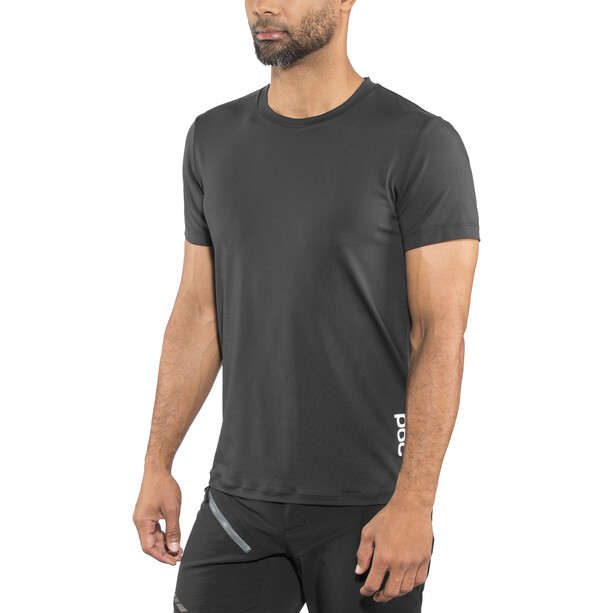 POC Essential Enduro Light Tee Herr carbon black