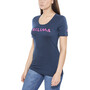 Aclima LightWool LOGO T-Shirt Damen insignia blue