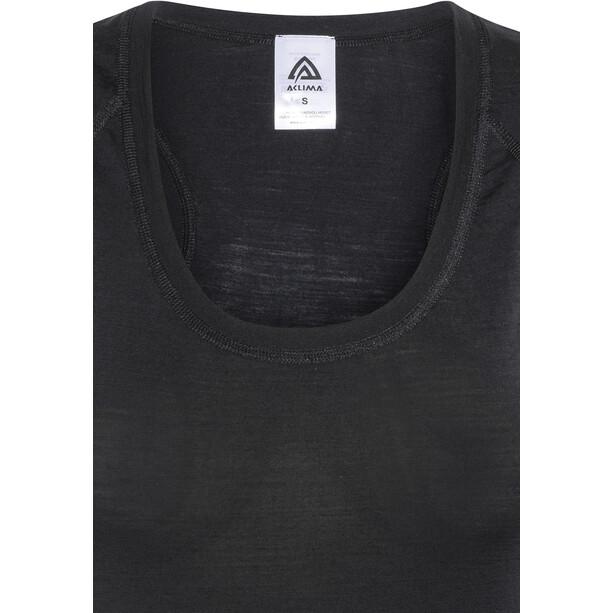 Aclima Lightwool Wrestler T-shirt Femme, noir