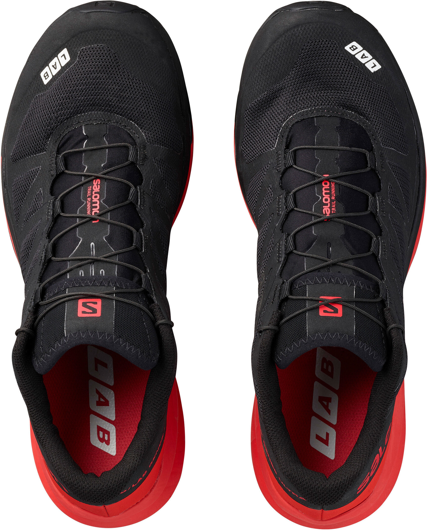 Salomon S Lab Sense Ultra Shoes blackredwhite
