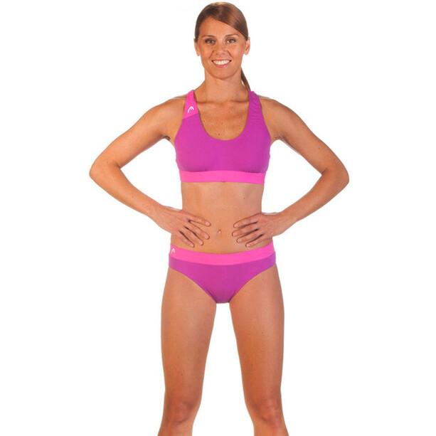 Head Volley Bikini Damen magenta