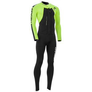 Head Swimrun Rough 4.3.2 Wetsuit Herren black/yellow black/yellow