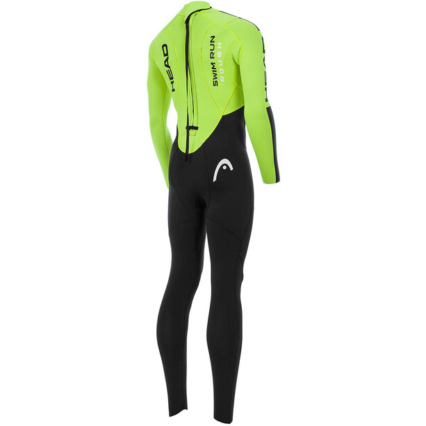 Head Swimrun Rough 4.3.2 Wetsuit Herren black/yellow