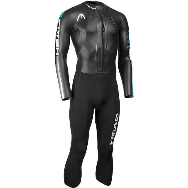 Head Swimrun Aero 4.2.1 Wetsuit Herren turquoise-silver
