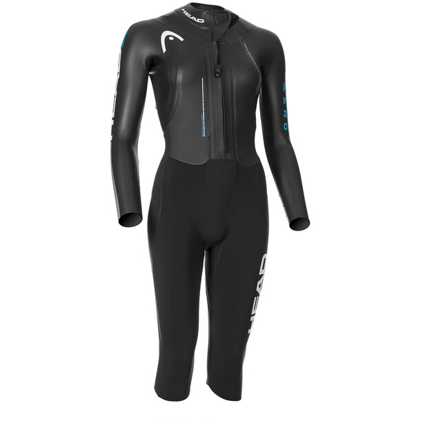 Head Swimrun Aero 4.2.1 Wetsuit Damen turquoise-silver
