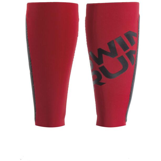 Head Swimrun Air Cell Manchons de compression pour mollets, rouge/noir
