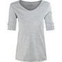 Royal Robbins Merinolux T-shirt à col en V Femme, light pewter