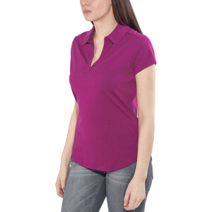 Royal Robbins Wick-Ed Cool Polo Damen aster aster