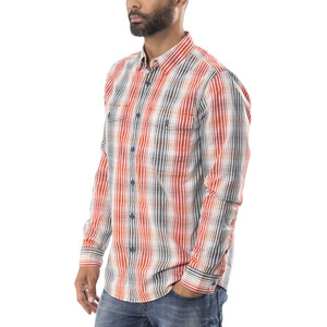 Royal Robbins Vista Chill Plaid Langarmhemd Herren crimson crimson