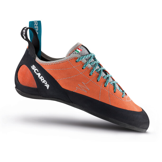 Scarpa Helix Climbing Shoes Dam mandarin red