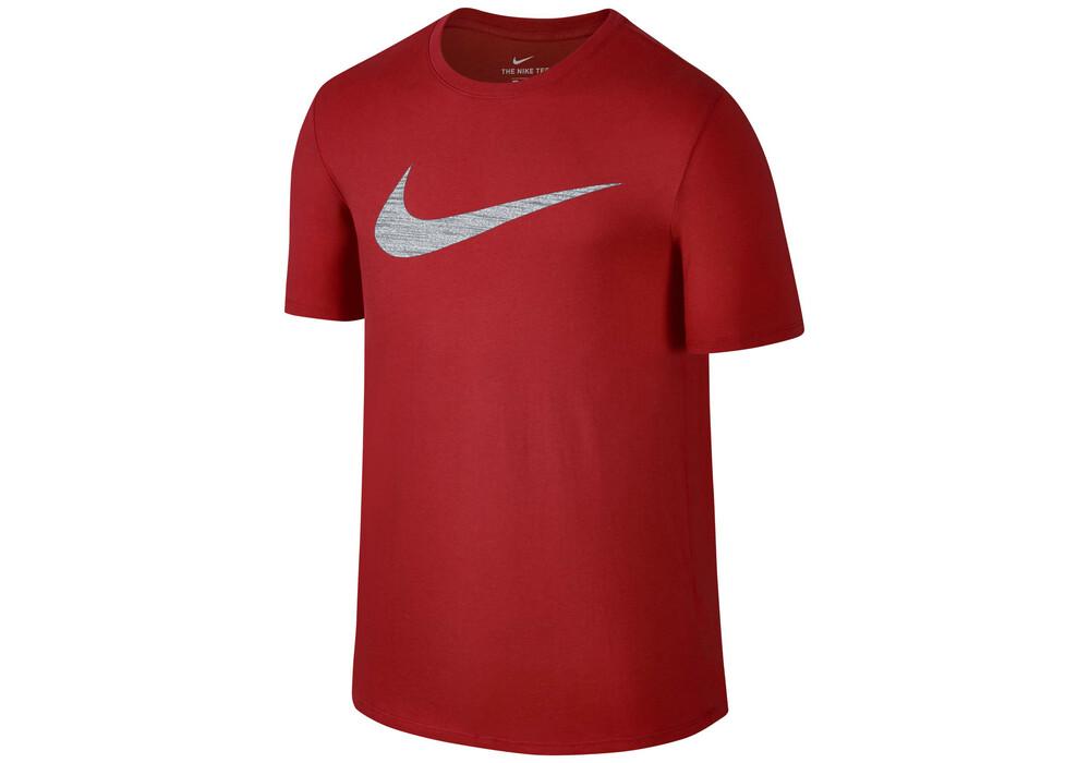 nike dry swoosh training t shirt men track red online kaufen. Black Bedroom Furniture Sets. Home Design Ideas