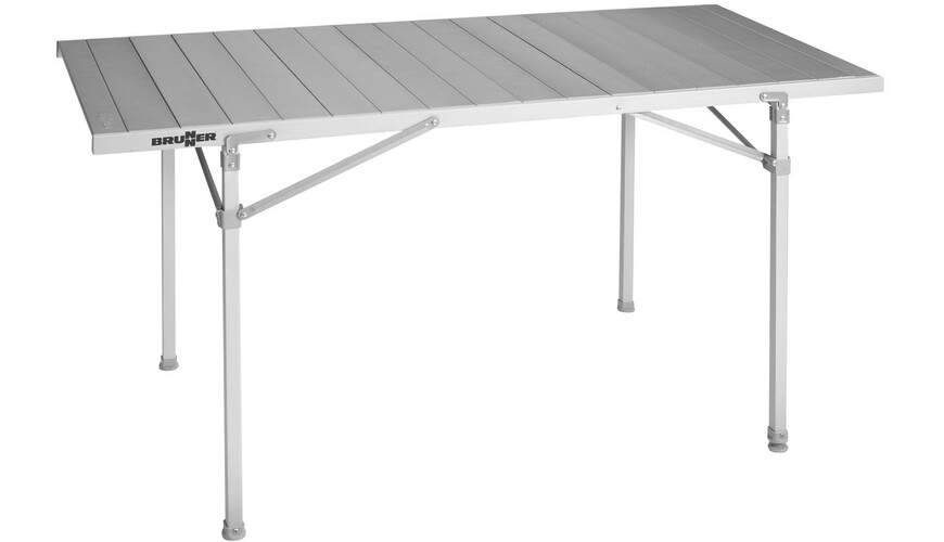 Brunner titanium quadra 6 table de camping argent sur for Table titanium quadra 6 personnes
