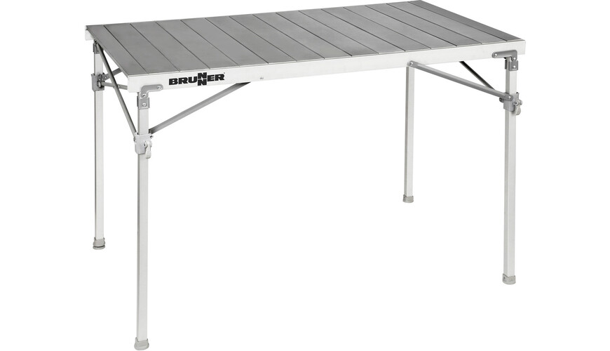 Brunner titanium quadra 4 ng table de camping gris sur for Table titanium quadra 6 personnes
