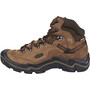 Keen Galleo Mid Waterproof Shoes Herr cognac / dark chocolate