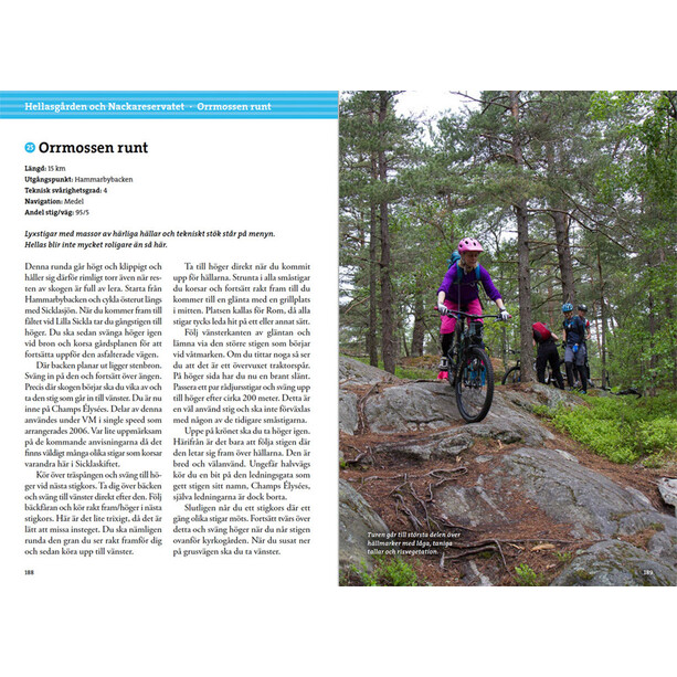 Calazo Mountainbike Kring Stockholm 2a uppl Book