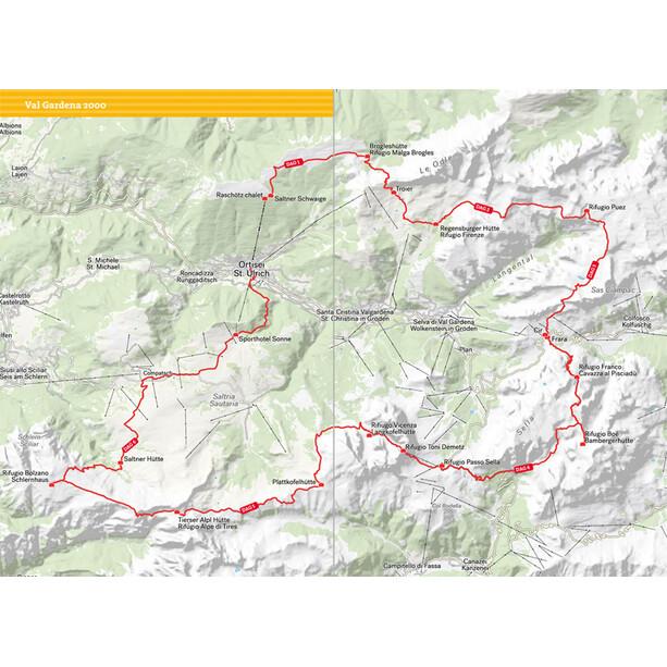 Calazo Vandra i Alperna: Dolomiterna Book