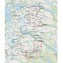 Calazo Saltoluokta – Kvikkjokk Map 1:50.000