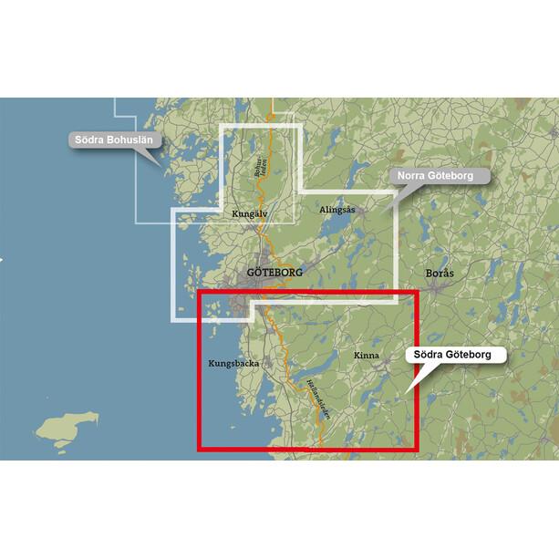 Calazo Södra Göteborg Map