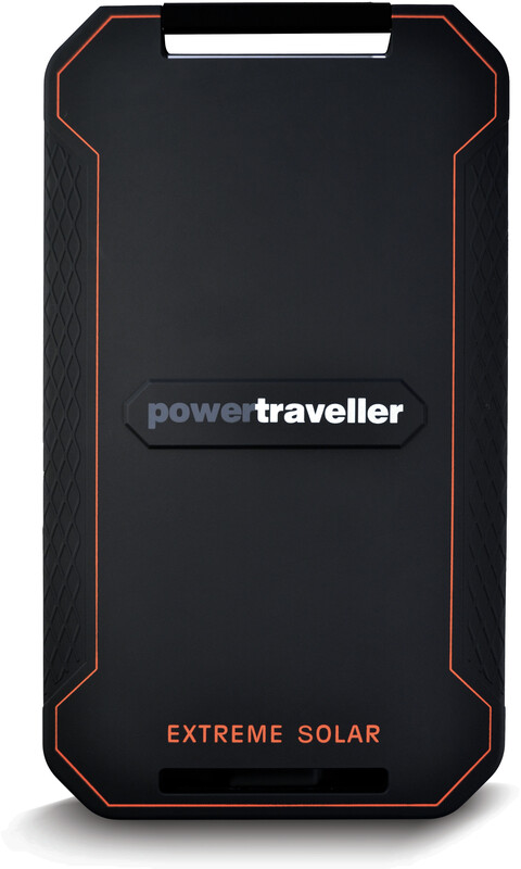 Powertraveller Extreme Solar Charger black  2019 Solpaneler & Batteripack