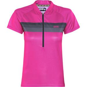 IXS Trail 6.1 Kurzarm Trikot Damen pink/black pink/black