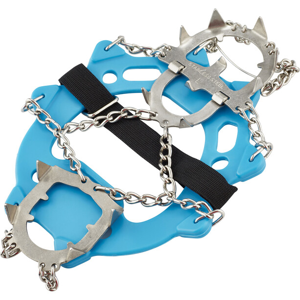 Climbing Technology Ice Traction Crampons Plus L blue