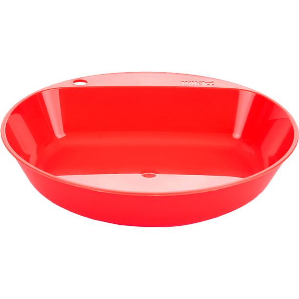 Wildo Camper Plate Deep red