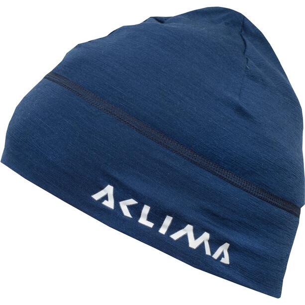 Aclima LightWool Beanie insignia blue