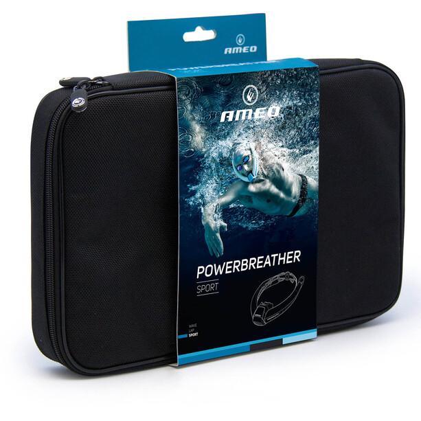 AMEO Powerbreather Sport 2.0 Schnorchel weiß/blau