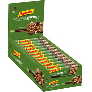 PowerBar Natural Energy Cereal Bar Boks 24x40g, Cacao-Crunch