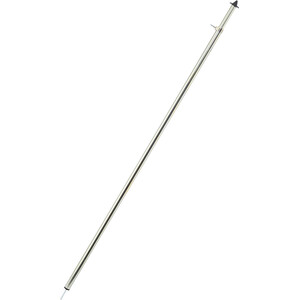 CAMPZ Telescope Pole Steel 110-200cm silver silver