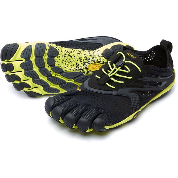 FiveFingers V-Run Shoes Herr svart/gul
