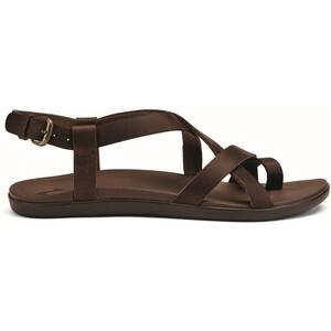 OluKai Upena Sandals Dam brun brun