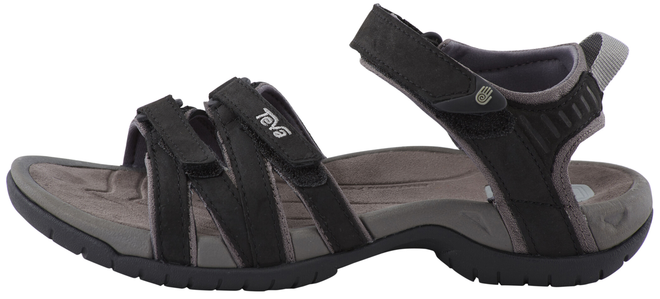 Teva Tirra Leather Sandals Dam black