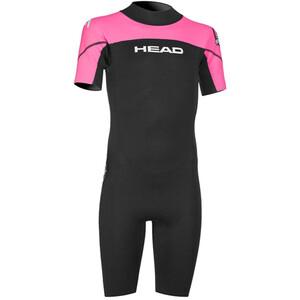Head Sea Ranger 1,5mm Shorty Suit Barn svart/pink svart/pink