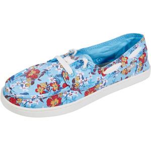 Sanük Pair O Sail Prints Kengät Naiset, aqua waikiki floral aqua waikiki floral