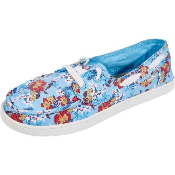 Sanük Pair O Sail Prints Kengät Naiset, aqua waikiki floral