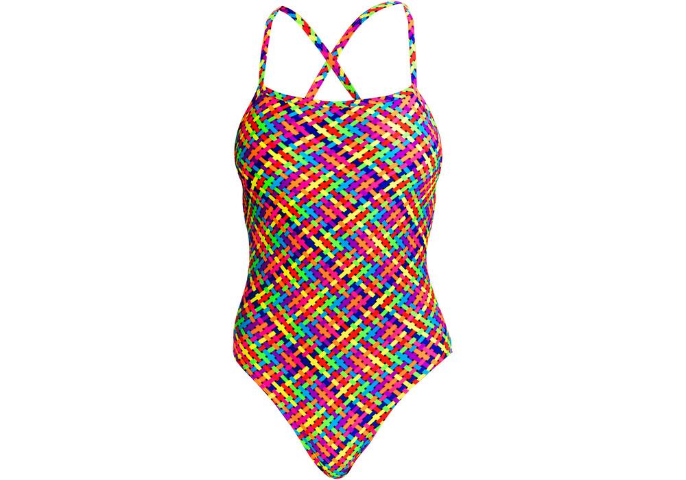 Funkita strapped in one piece costume da bagno donne - Donne senza costume da bagno ...