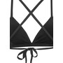 Funkita Tri Bikini Top Damen schwarz