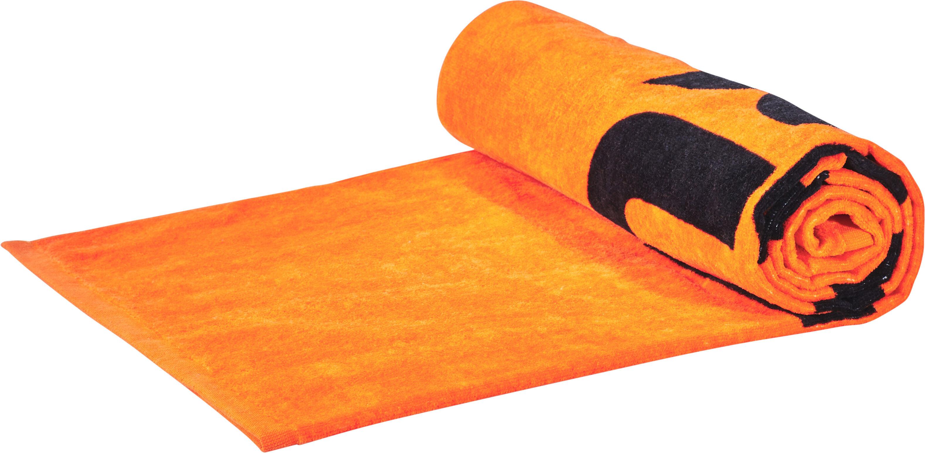 funky trunks towel serviette de bain homme orange sur campz. Black Bedroom Furniture Sets. Home Design Ideas