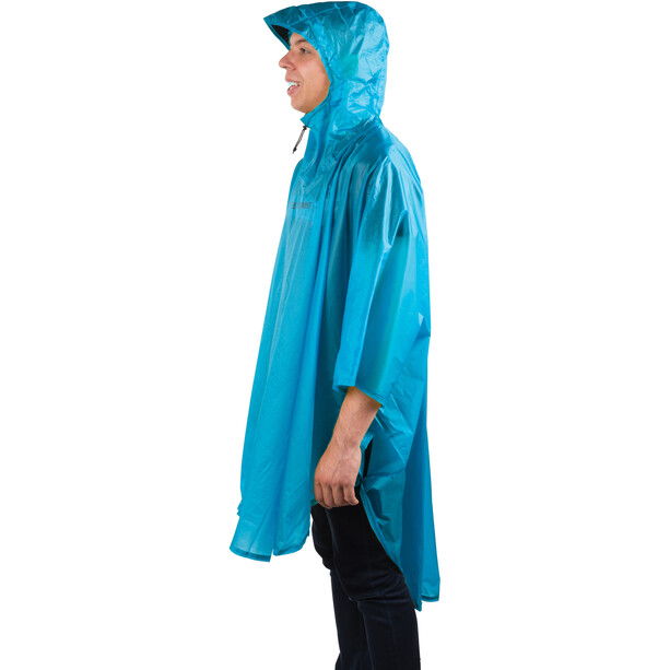 Sea to Summit 15D Poncho blue