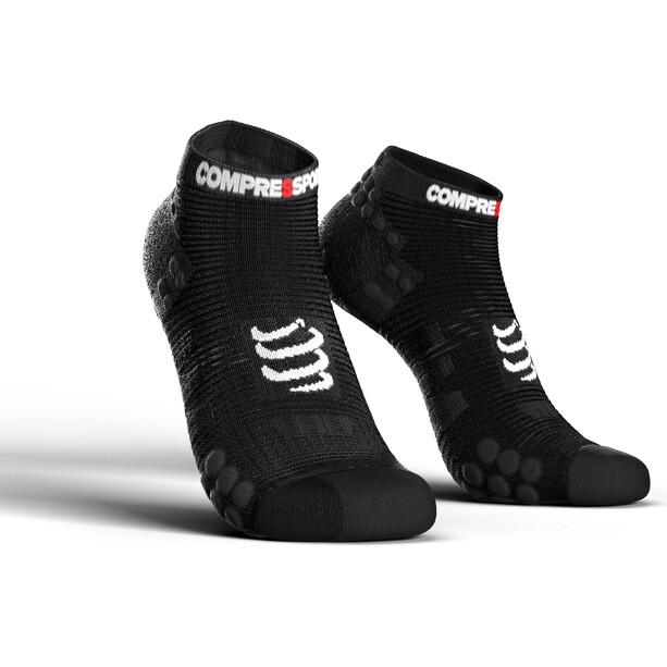 Compressport Pro Racing V3.0 Run Low-Cut Socken black