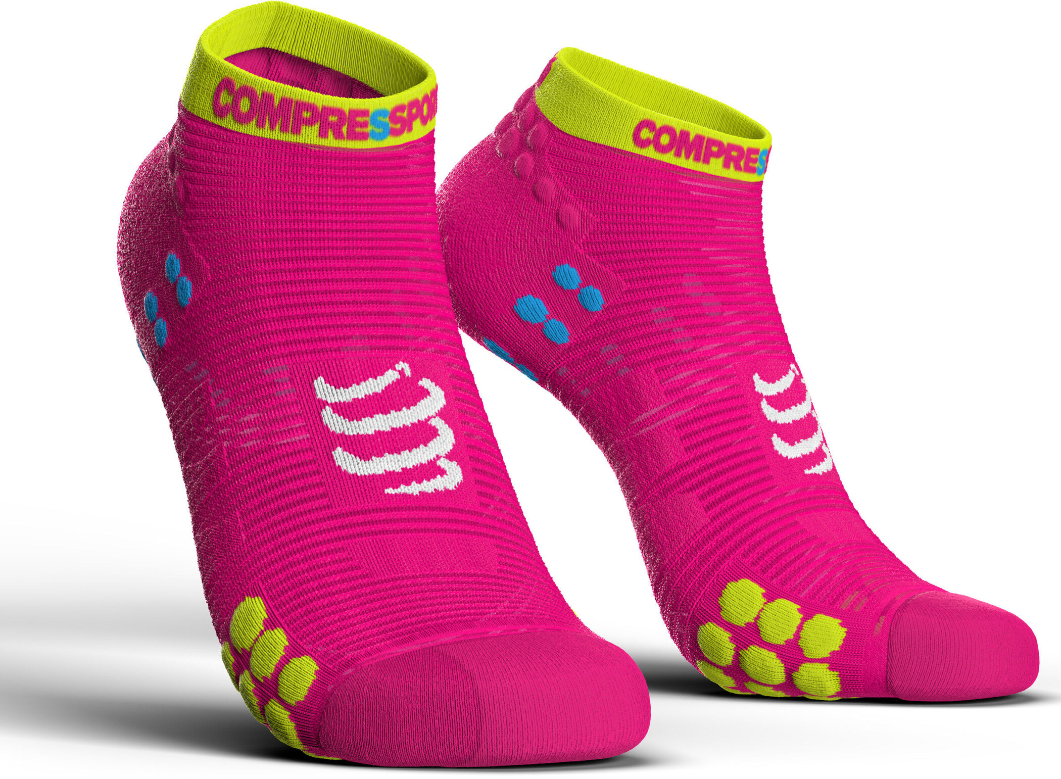 save off cde61 ac68a Compressport Pro Racing V3 0 Run Low Socks Fluo Pink.jpg